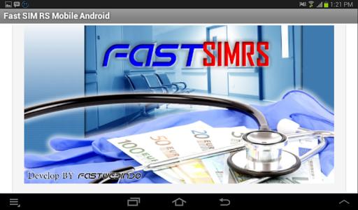 Aplikasi Fast SIM RS Mobile