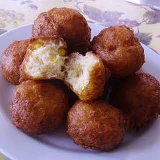 Buttermilk Corn Fritters.