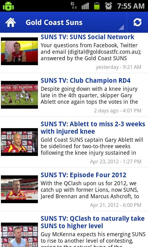 AFL Latest Videos - screenshot
