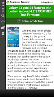 Samsung Update - screenshot thumbnail