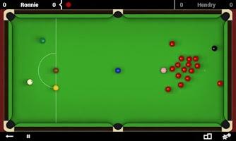 Screenshot of Total Snooker Free