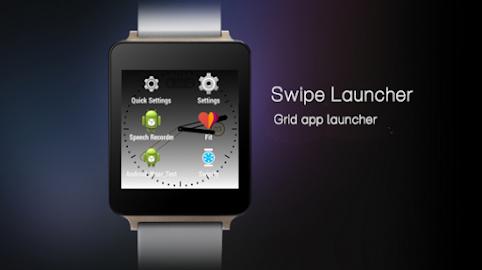 Swipify - Wear Launcher Screenshot 3