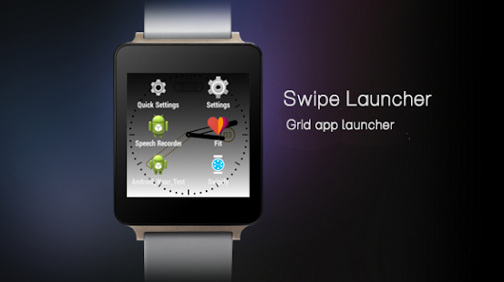 Swipify - Wear Launcher- screenshot thumbnail