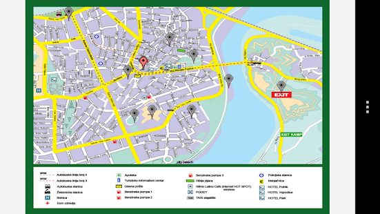 Moj Novi Sad Android Apps On Google Play - Novi sad map