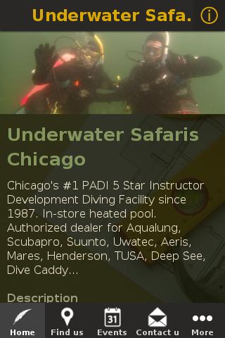 Underwater Safaris Chicago