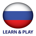 Learn and play. Russian free icon
