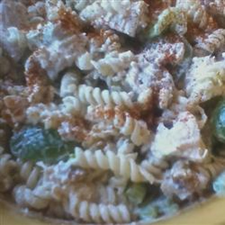 Company Chicken Pasta Salad with Grapes Recipe