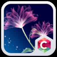 NEON FLOWER CLAUNCHER THEME 4.8.1