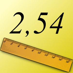 1 дюймов в сантиметрах: