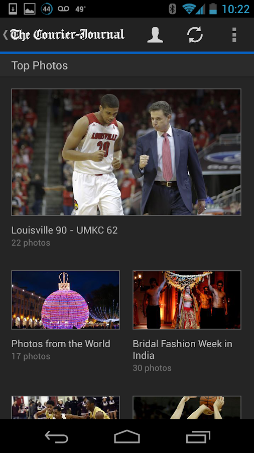 The Courier-Journal - screenshot