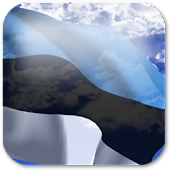 3D Estonia Flag LWP +