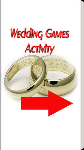 Wedding Games Activity