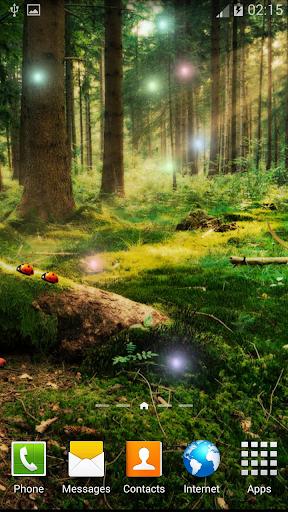 森林動畫壁紙