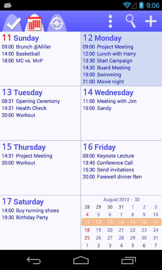 To-Do Calendar Planner+- screenshot