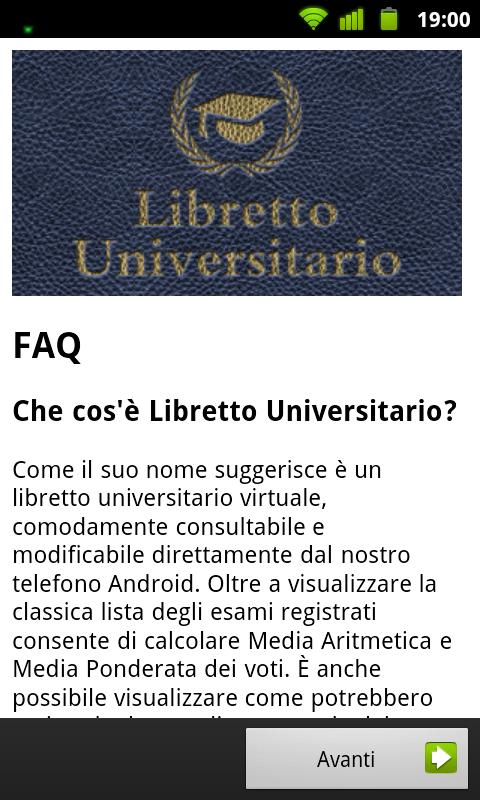 Libretto Universitario - screenshot