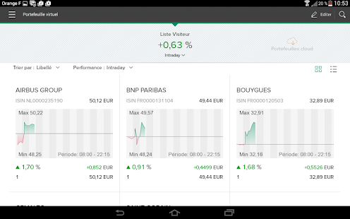L'AppliBourse- screenshot thumbnail