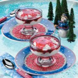 Snowflake Pudding.