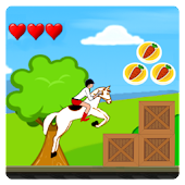 2D Jockey Dash: Horse Riding