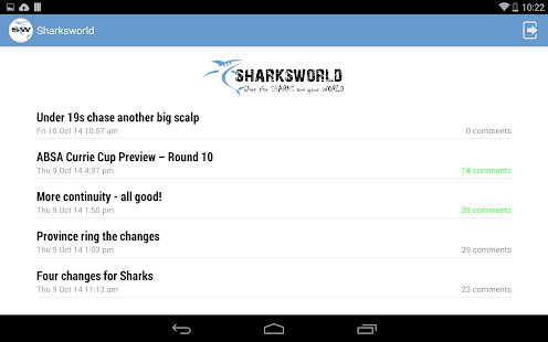 Sharksworld for Android- screenshot thumbnail