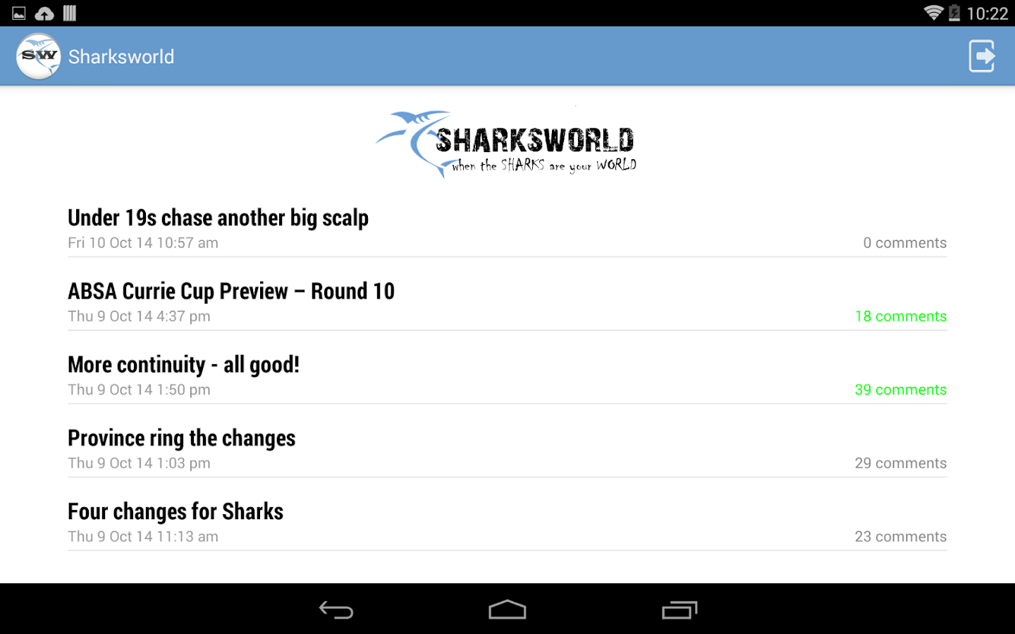 Sharksworld for Android- screenshot
