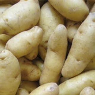 Fingerling Potato Salad with Green Chile-Cilantro Salsa