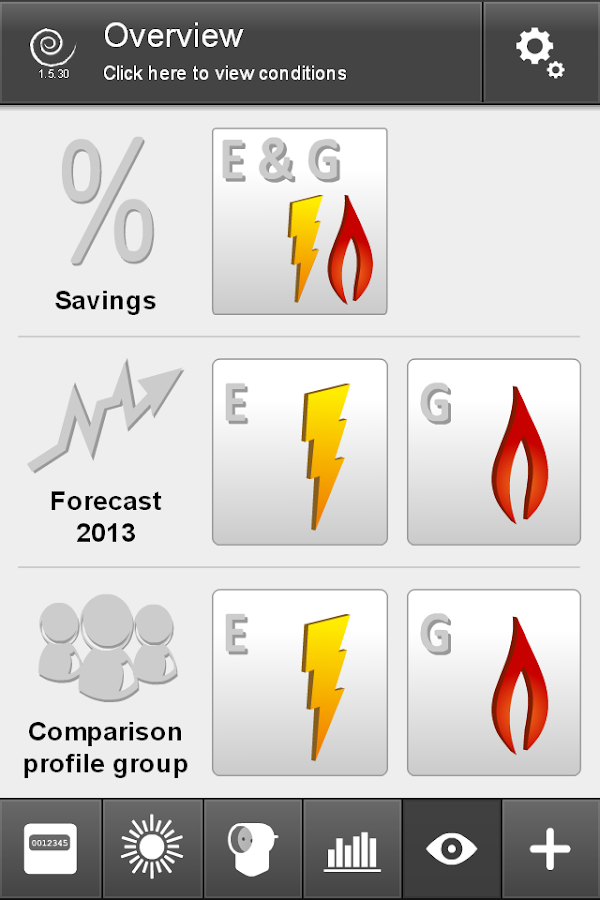 Plugwise mobile- screenshot