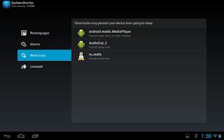 Screenshot of Archos System Monitor (TI)