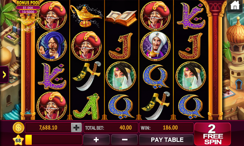 casino slot party