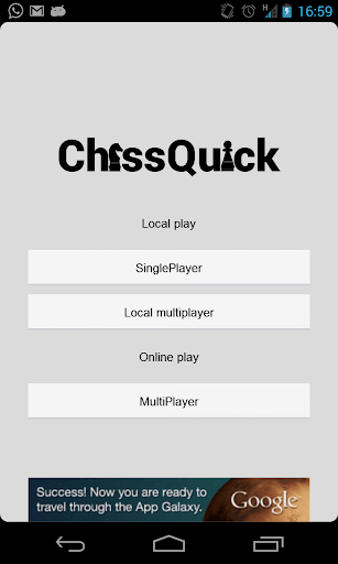 ChessQuick -Simple fast chess