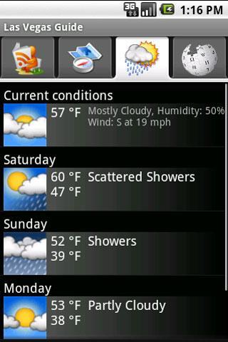 Las Vegas Guide - screenshot