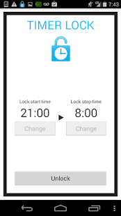 Smartphone addiction Timerlock- screenshot thumbnail