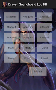 Draven Soundboard LoL FR - screenshot thumbnail