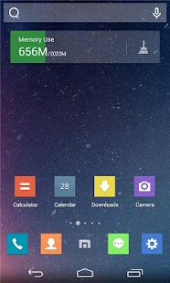 Maxthon-themed Launcher