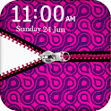 Pink Zipper Pouch Go Locker