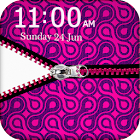 Pink Zipper Pouch Go Locker icon