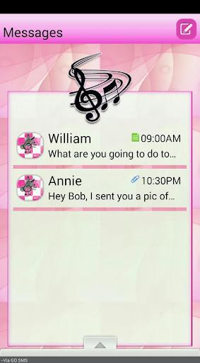 MusicFantasy GO SMS THEME