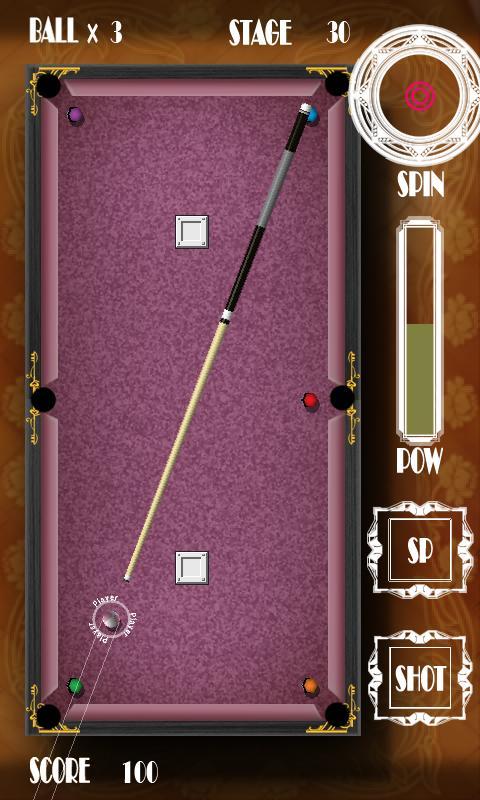 RIRIKO Pocket Billiard- screenshot