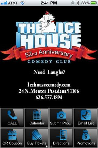 ICE HOUSE COMEDY CLUB - screenshot