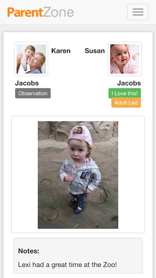 ParentZone- screenshot
