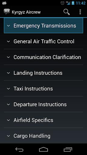 【免費通訊App】Kyrgyz Aircrew Phrases-APP點子