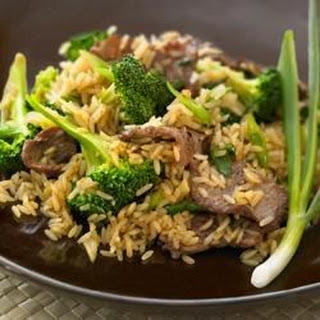 Beef and Broccoli Stir Fry with Whole Grain Brown Rice