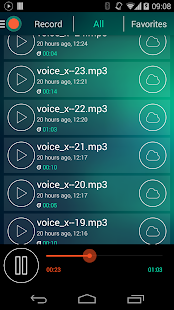 Voice Recorder - Dictaphone- screenshot thumbnail
