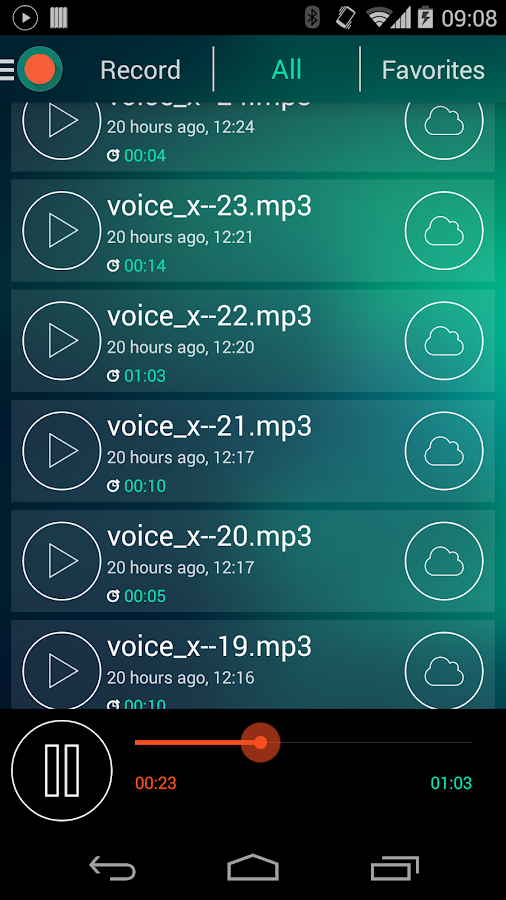 Voice Recorder - Dictaphone- screenshot