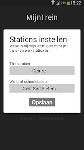MijnTrein- screenshot thumbnail