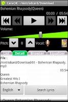 Screenshot of CaraOK -Sing,Sing,Sing Karaoke