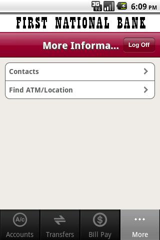 First National Bank Fort Smith - screenshot