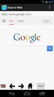 Screenshot of Scan to Web