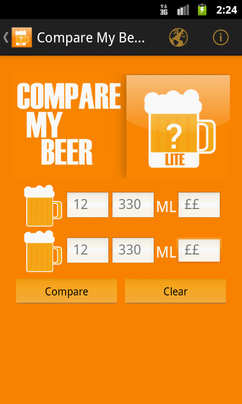 Compare My Beer Lite- screenshot