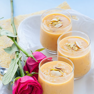 Mango and Tapioca pudding
