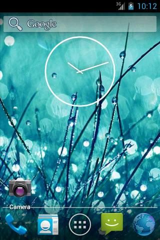 Galaxy S4 Rain and Dew LWP